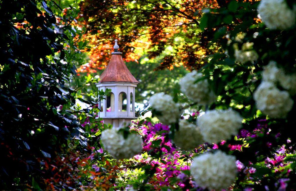Copper-birdhouse